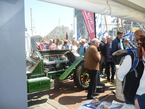 American LaFrance car goes to Ostend
