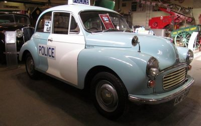 Morris Minor Saloon – Police Panda Car