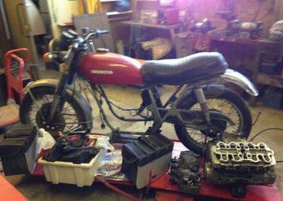 1972 Honda 500 Rebuild