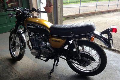 1972 Honda 500 - 21