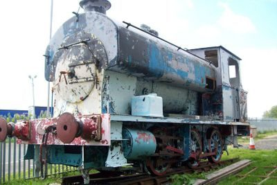 Saddle Tank Engine