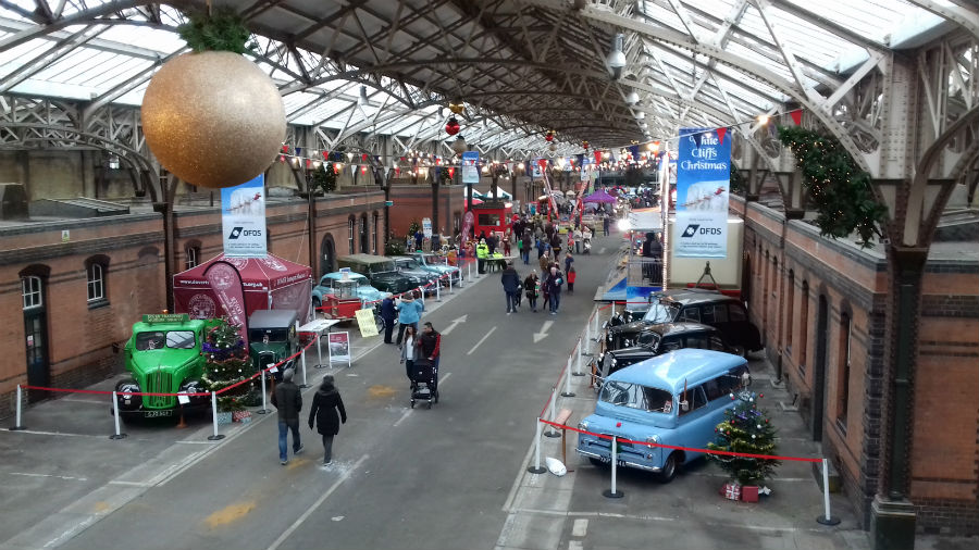 Dover Transport Museum at Christmas