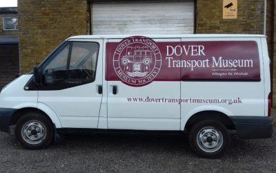 The Museum's Striking New Van