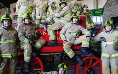 Sandwich Fire Fighters link up