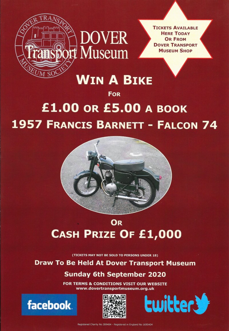 Motorcycle Raffle Poster 2020