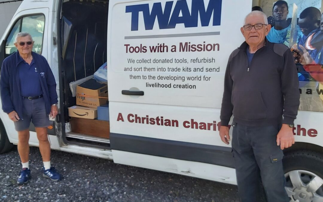 """Dover Transport Museum sends first lot of tools to """"Tools With A Mission"""""""